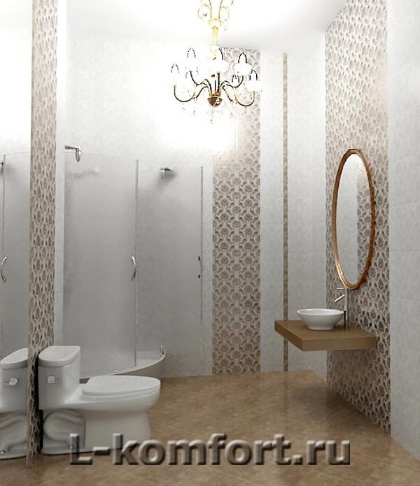 дизайн классической ванной комнаты 4 кв.м.